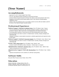 sle resume administrative assistant hospital resumes for teachers objective on a resume for medical assistant preschool teacher