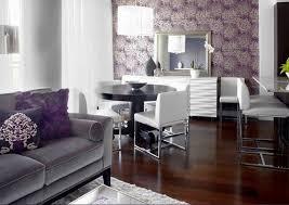 chambre prune et gris deco chambre prune et gris unique idée déco salon gris et violet