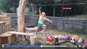 Backyard Ninja Warrior Course Uber Cool Dad Creates U0027american Ninja Warrior U0027 Course For His 5