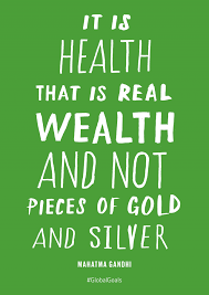 Good Health Mahatma Gandhi Quote Inspire Pinterest