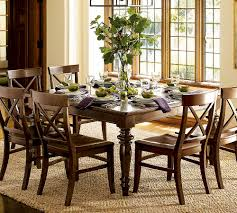 creating the best dining room decor for your ultimate dining barn braided rug for traditional dining room decor ideas with glossy wooden table sets and floral