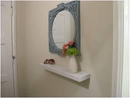 Entry Shelf Mirror Floating Shelf Bathroom Shelf Ideas Storage Solutions Entry