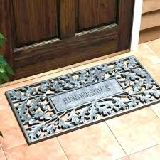 Personalized Outdoor Rugs Cool Personalized Welcome Mats Videowat Me