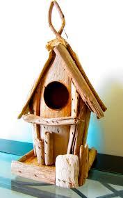 Driftwood Birdhouse Driftwood Home Decor Wooden Birdhouse Nautical