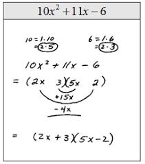 openalgebra com factoring trinomials of the form ax 2 bx c