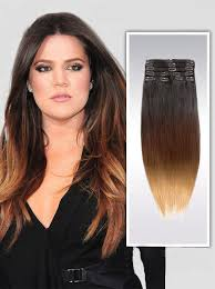 owigs hair extensions inch bright ombre clip in indian remy hair extensions 9pcs