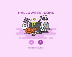hallowen download download halloween vector icons free free design data