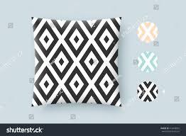 seamless modern stylish texture graphic pattern stock vector