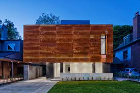 home design stores in toronto a house in toronto wrapped in corten steel design milk