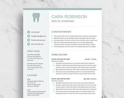 dental hygiene resume template 3 professional resume templates cv templates by innovaresume