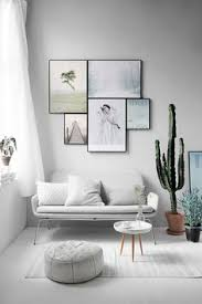 interior design on wall at home inspiring wall with monochrome frames for the home
