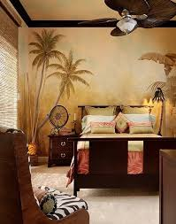 Decorating With A Modern Safari Theme | decorating with a modern safari theme painted wallpaper bedrooms