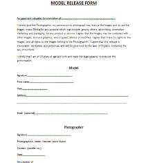 model release form template free photo rights release form template