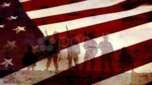 Americsn Flag Patriotic Soldiers In Front Of Us Flag 1920x1080 Hi Res 4211421