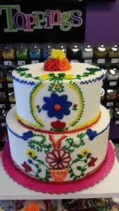 fiesta buttercream cake class
