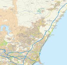 Maps Of South Africa by Map Of Phoenix