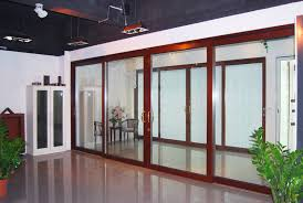 Aluminum Patio Doors Manufacturer Thermal Break Double Glazing Aluminum Sliding Door Aluminum