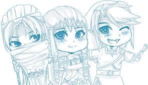 three best friends by chocolexii on deviantart