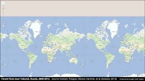 Show World Map by High Resolution Global Map Of Forest Change Business Insider