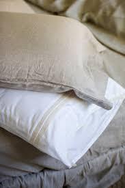 damara linen grey chambray sheet set