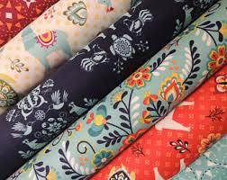 designer fabric designer fabric etsy