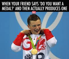 Medal Meme - 12 innocent photos from the olympics that we ve gone and ruined