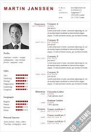 powerpoint resume template all cv templates go sumo