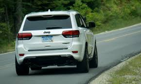 green jeep grand cherokee 2018 jeep grand cherokee trackhawk first drive review autonxt