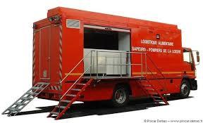 camion cuisine mobile vsa pompiers poste commandement mobile véhicules risques