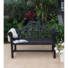 4 u0027 lutyen u0027s bench dark brown walmart com