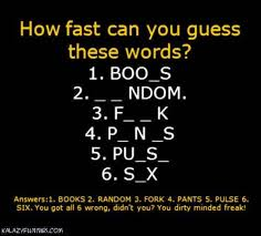 Dirty Mind Meme - missing letter game is on and you do have a dirty mind my