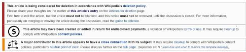 how to avoid common mistakes in wikipedia page creation