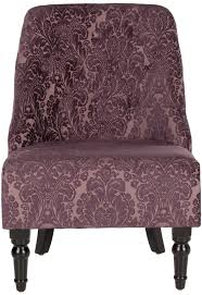 Purple Dining Chairs Chair Contemporary Style Living Room With Purple Medan Accent