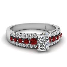 ruby engagement rings fascinating diamonds