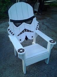 How To Build Wooden Outside Chairs by Star Wars Storm Trooper Chair Adirondack Chair Yard Furniture