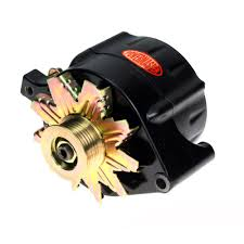 8 57100 mustang powermaster alternator 100 amp one wire serpentine