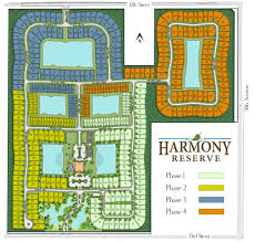 site plan site plan harmony reserve