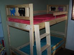 Bunk Beds  Heavy Duty Bunk Beds Queen Over Queen Bunk Bed Plans - Wooden bunk beds ikea