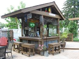 Backyard Bar Ideas Best Backyard Bar Ideas On Outdoor Bars Outdoor Backyard Bar