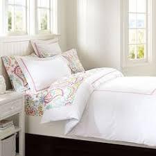 Pottery Barn Dorm Room Swirly Paisley Duvet Cover Sham Pink Pbteen Abigail Grace
