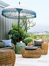 Patio Furniture Chicago Area Bohemian Chic Furniture Bohemian Outdoor Umbrella Shades Woven