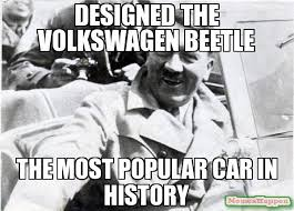 Nice Car Meme - designed the volkswagen beetle the most popular car in history meme