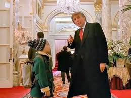 donald trump u0027s greatest christmas movie home alone 2