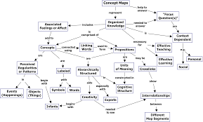 nervous system concept map cmap cmap software