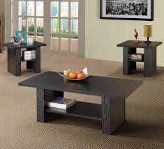 Wood Living Room Table Sets Coffee And End Tables