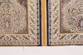 Moorish Design by Antique Moroccan Moorish Silk Tapestry For Sale At 1stdibs