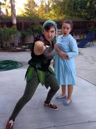 peter pan and wendy costumes by strongcactus on deviantart