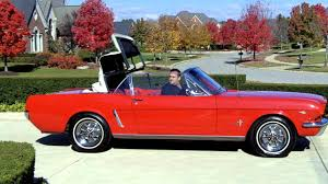 vintage convertible 1965 ford mustang convertible 289 classic muscle car for sale in