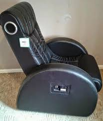 Recliner Gaming Chair With Speakers Leather Reclining Gaming Chair With Built In Speakers In Bingley