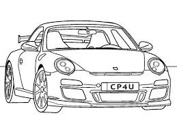 classic porsche 911 gt3 coloring awesome coloring